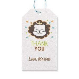 Lion Gift tag