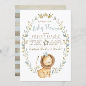 Lion Prince Baby Shower