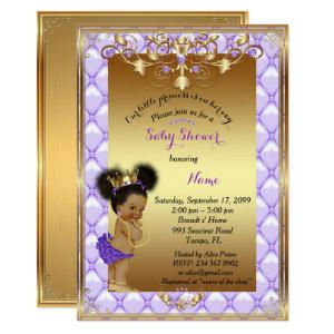 Little etnic Princess, Baby Shower Invitation, Invitation