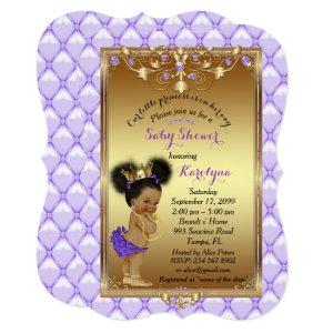Little etnic Princess, Baby Shower Invitation,Karo Invitation