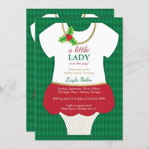 Little Lady Baby Shower , Christmas