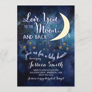Love you to the Moon & Back Baby Shower
