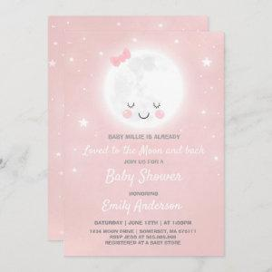 Loved To The Moon And Back Baby Shower