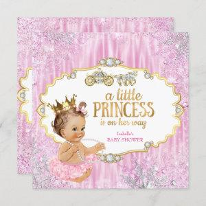 Magical Carriage Princess Baby Shower Pink