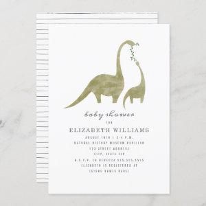 Mama and Baby Dinosaur Neutral Baby Shower