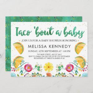 Mexican Taco Bout A Baby Baby Shower Invitation