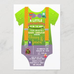 Monster Baby Shower - They've Created a Monster Invitation