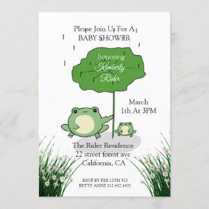 Mother Frog Love Baby Shower
