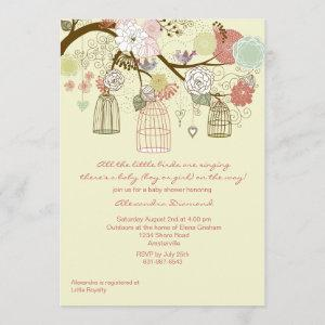 Nesting Floral Baby Shower