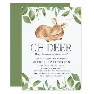 Oh Deer | Baby Shower Invitation