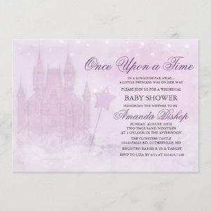 Once Upon a Time Fairytale Baby Shower Invitation