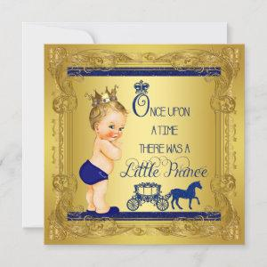 Once Upon a Time Prince Baby Boy Shower Invitation