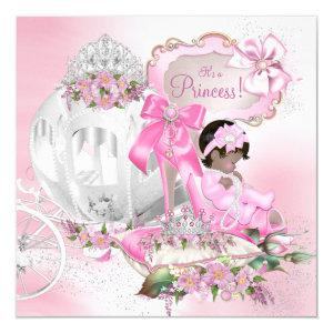 Once Upon a Time Princess Baby Shower Invitation