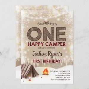One Happy Camper Birthday  Camping Party