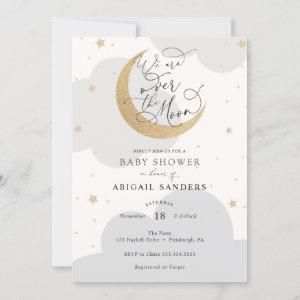 Over the Moon Gender Neutral Baby Shower