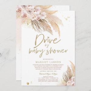Pampas Grass Bohemian Drive By Baby Shower