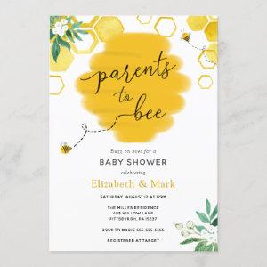 Parents to Bee Baby Shower