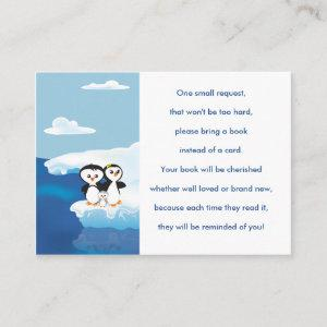 Penguin Family Book Request Card