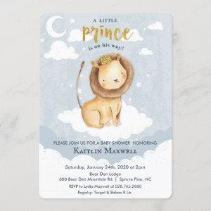 Prince Lion Baby Shower