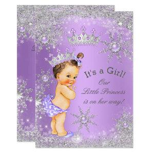 Princess Baby Shower Lavender Wonderland Invitation