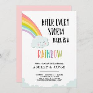 Rainbow After a Loss Girl Baby Shower