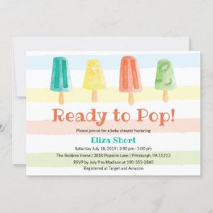 Ready to Pop Popsicle Summer Baby Shower
