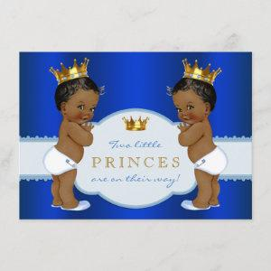 Royal Prince Twin African American Baby Shower
