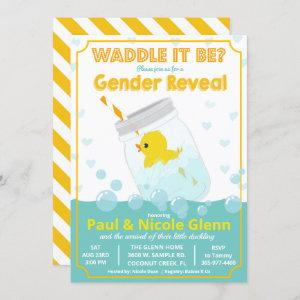 Rubber Duck Gender Reveal Party