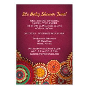 Rum Burst Creative Invitation Card Design