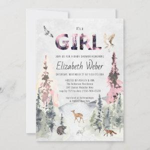 Rustic Forest Woodland Baby Shower
