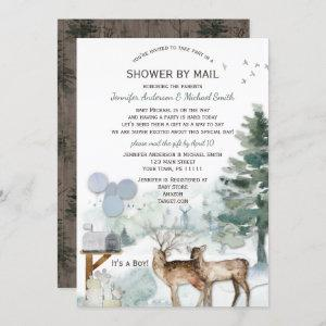 Shower by Mail Forest Boy Country Deer Baby Shower
