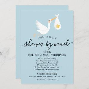 Shower By Mail Long Distance Sprinkle Blue