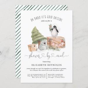 Shower by Mail | Winter Christmas Baby Shower