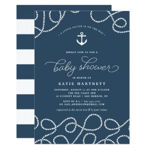 Smooth Sailing | Baby Shower Invitation