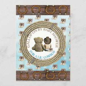 Socially Distant Drive By or Mail In Baby Shower Invitation