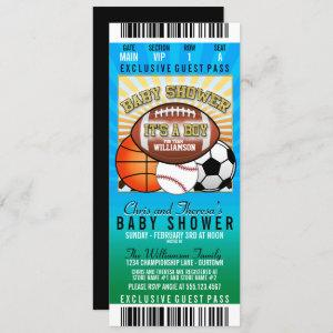 Sports Theme Party Baby Shower
