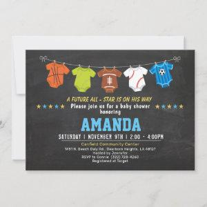 Strong baby Sport baby shower