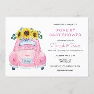 Sunflower Drive By Baby Girl Shower