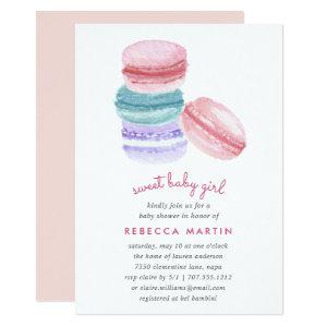 Sweet Love | Macaron Baby Shower Invitation