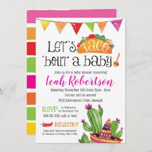 Taco bout a Baby - Baby Shower Invitation