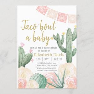 Taco 'Bout a Baby, Fiesta Baby Shower Invitation, Invitation