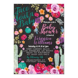 Taco Bout Love Baby Shower Invitation