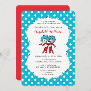 Thing 1 Thing 2 | Twins Baby Shower