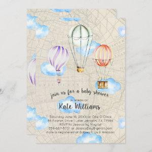 Travel Themed Baby Shower
