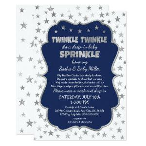 Twinkle Twinkle Drop-in Baby Sprinkle Invitation