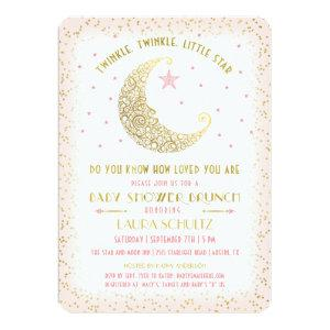 Twinkle Twinkle Little Star Baby Shower Brunch Invitation