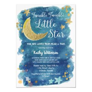 Twinkle Twinkle Little Star Shower by Mail Invitation