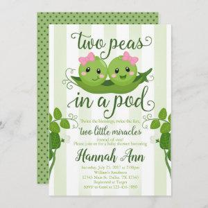 Two Peas in a Pod Baby Shower  Sweet Pea