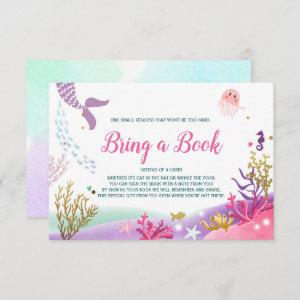 Under the Sea Mermaid Baby Shower Bring a book