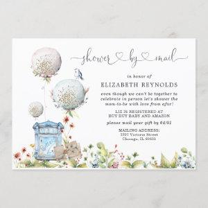 Virtual Baby Shower by Mail Invitation